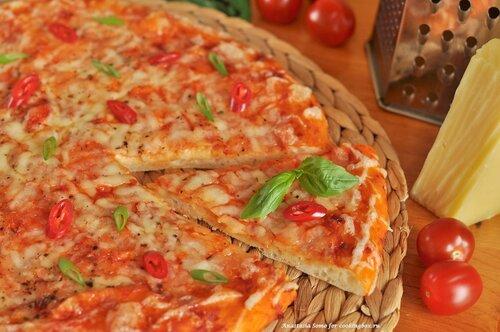 Сырная пицца (кусочек)