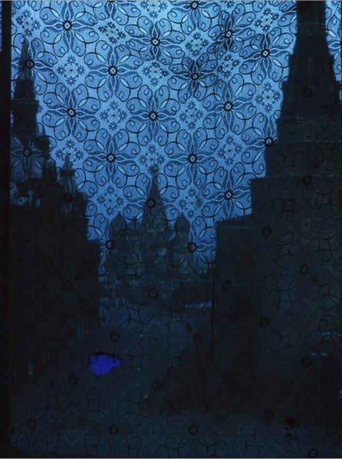 Москва. Красная площадь и собор Василия Блаженного из окна National Hotel