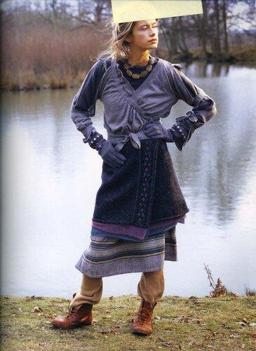 Вязание на спицах Knitting.  СТИЛИ.  СЕЗОНЫ.  Предыдущая.  Вязаные юбки.