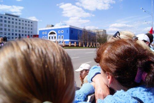 Парад 9 мая в Йошкар-Оле. Толпа