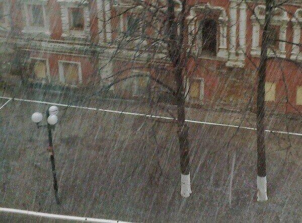 снег 19 апреля