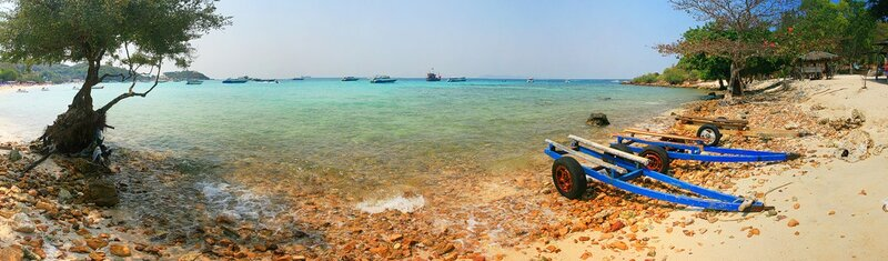 Панорама острова Ко Лан