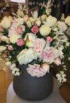 Искусственные цветы. Ванильный рай