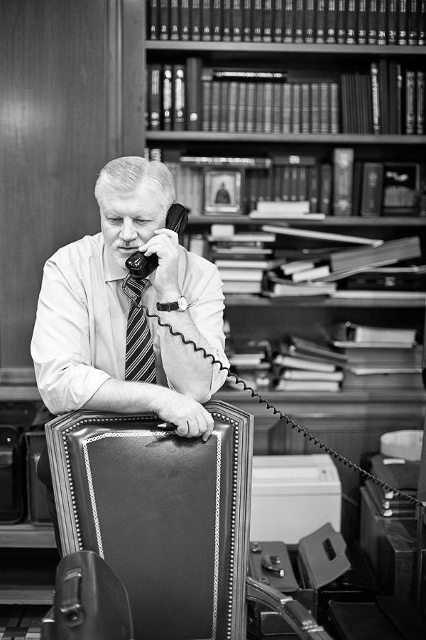 Портреты Сергея Миронова. фотограф К. Кузьмин