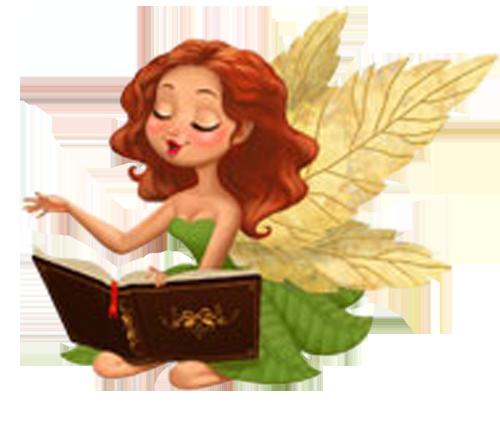 коллекция картинки фея читает рода занимают