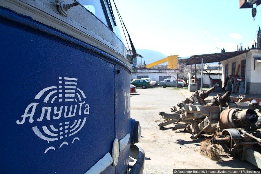 Горные троллейбусы в Крыму
