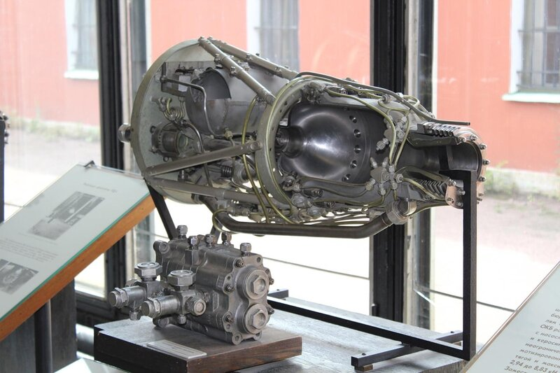 Насосный агрегат двигателя РД-2