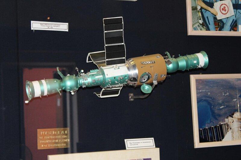 Макет орбитального комплекса