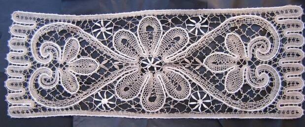 плетение решеток в вологодских кружевах