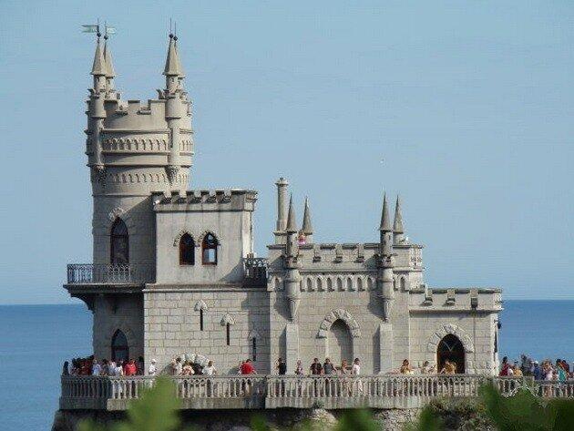Ласточкино гнездо. Крым, Украина