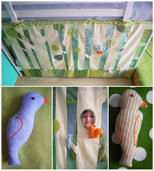 Занавески на детскую кроватку своими руками 25