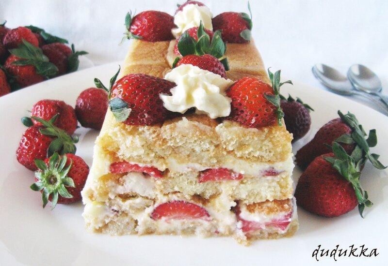 Клубничный shortcake