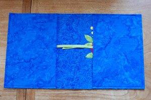 Обложка для книги из ткани