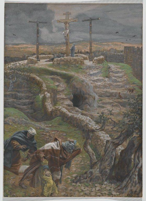 Brooklyn Museum: Jesus Alone on the Cross (Jésus seul sur la Croix)