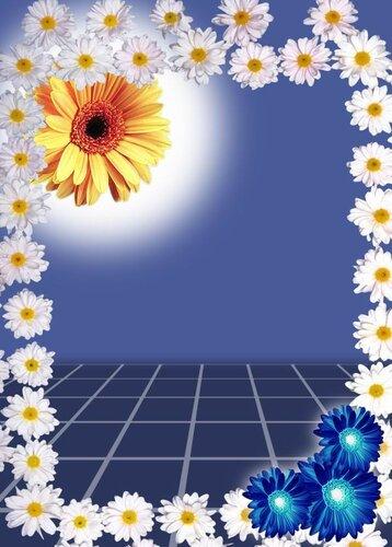 Подборка фонов с цветами 27