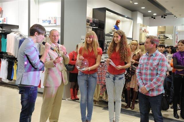 Открытие нового магазина New Look в ТЦ Глобус, Киев