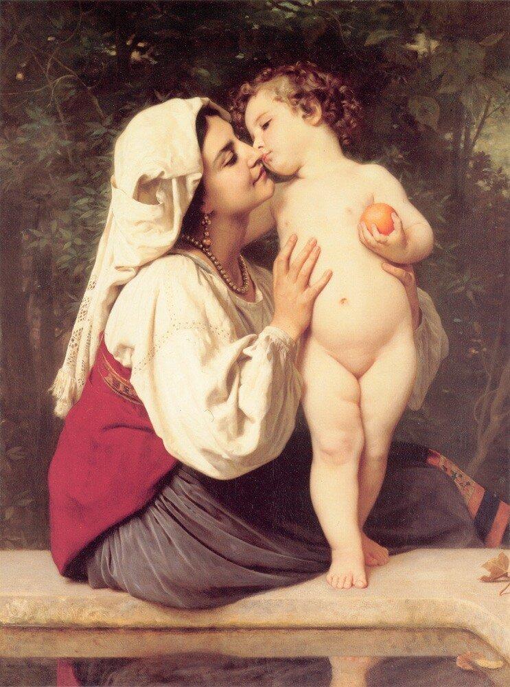 Бугеро, Поцелуй. 1863 г.