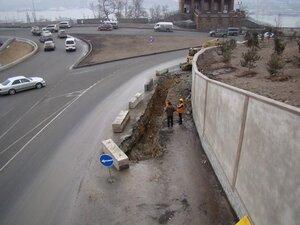 На кольце Фуникулера во Владивостоке начались дорожные работы