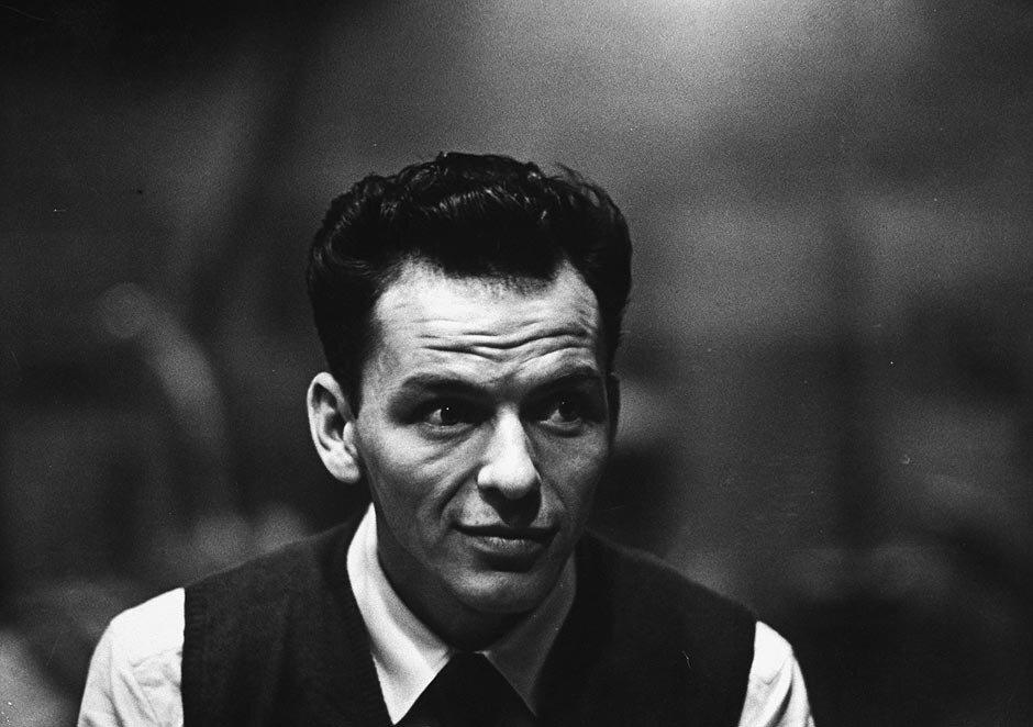 Frank Sinatra by W. Eugene Smith