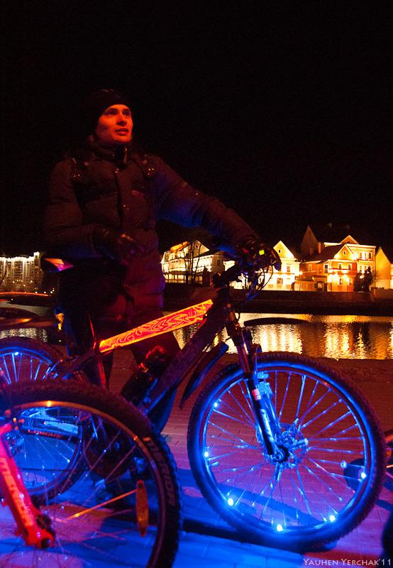 вело, час земли, фото