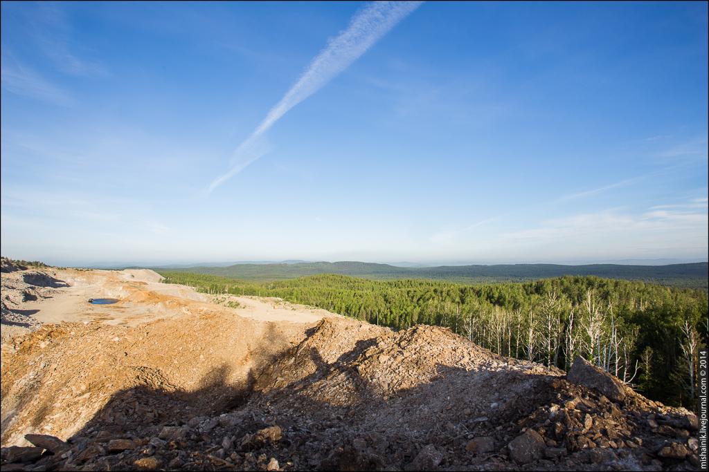 Вишневогорский полевошпатовый карьер г. Долгая рудная зона №147
