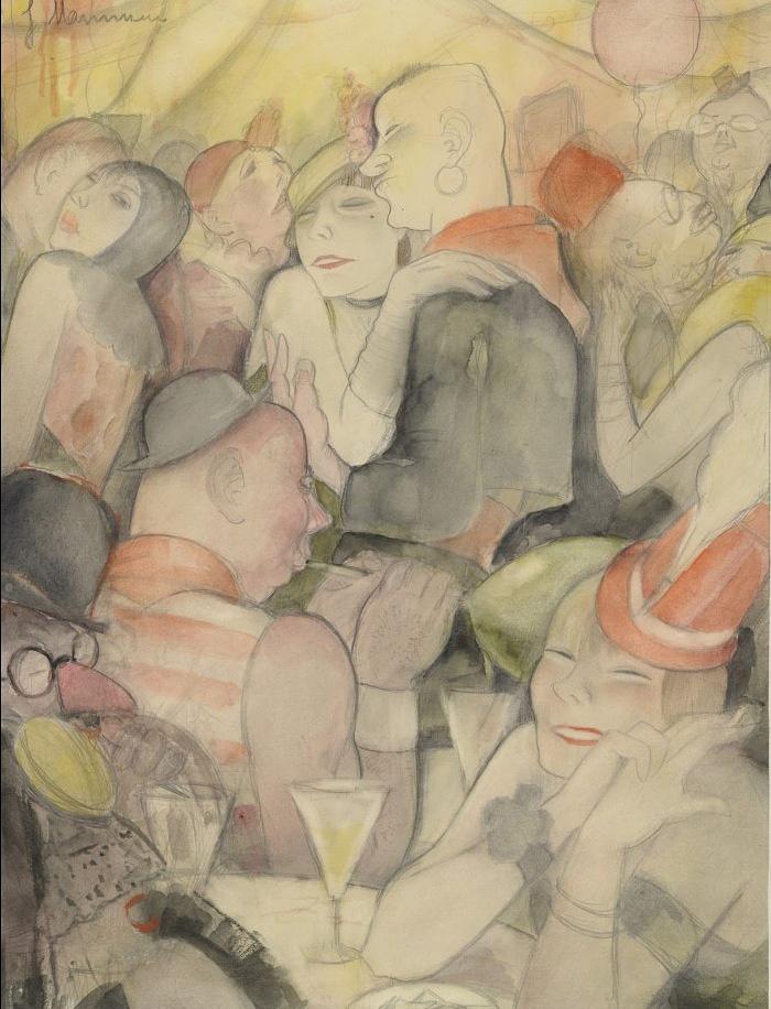 Карнавал в Берлине. Жанна Маммен (1890-1976)