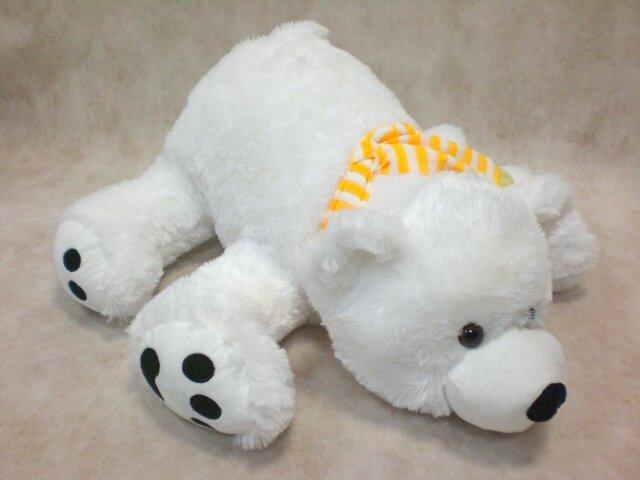 Большие мягкие игрушки (размер от 50 см). Мягкая игрушка Медведь умка