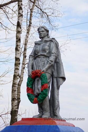 Братская могила защитников Москвы в Тучково, Московская обл.