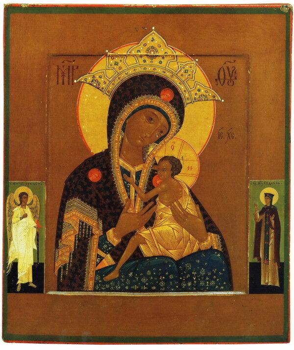 богородичные иконы: