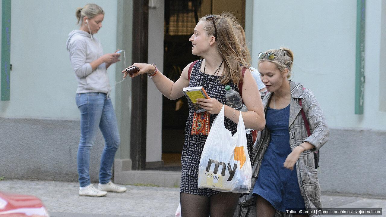 Импортные люди. Прага.