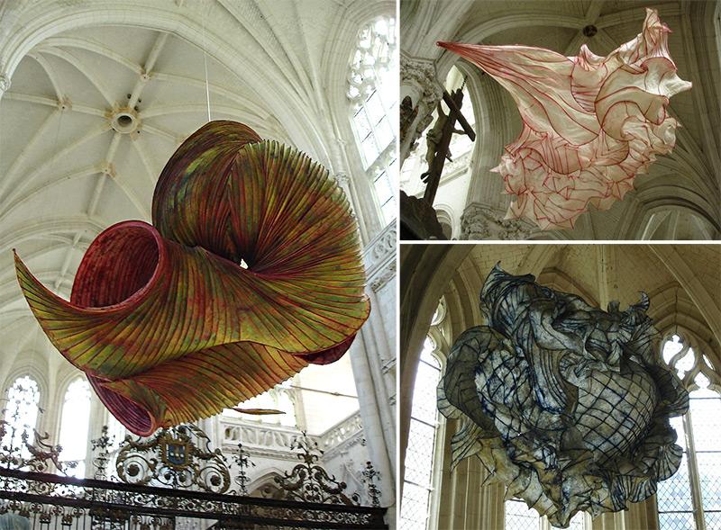 Бумажные инсталляции Питера Гентенара