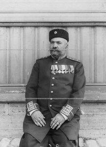 В.Г.Сабателли - капельмейстер оркестра  1-ого стрелкового  батальона .