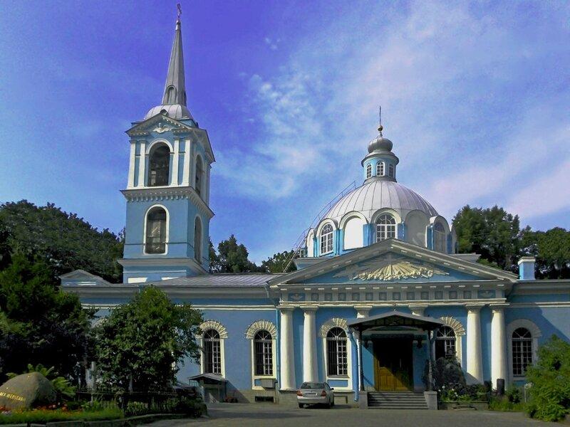 Церковь во имя Смоленской иконы Божией Матери в Санкт-Петербурге.