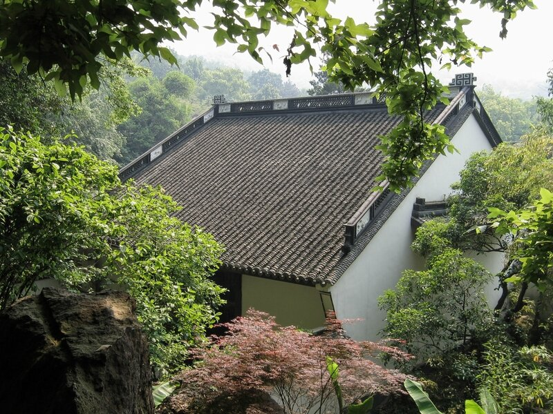 Крыша монастыря, Хуанлундун, Ханчжоу