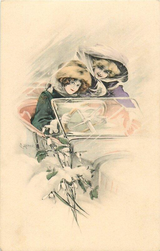Otto schilbach на старинных открытках