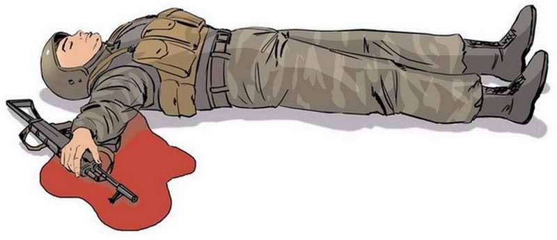 Оказание первой помощи бойцу с ранением в руку - 1