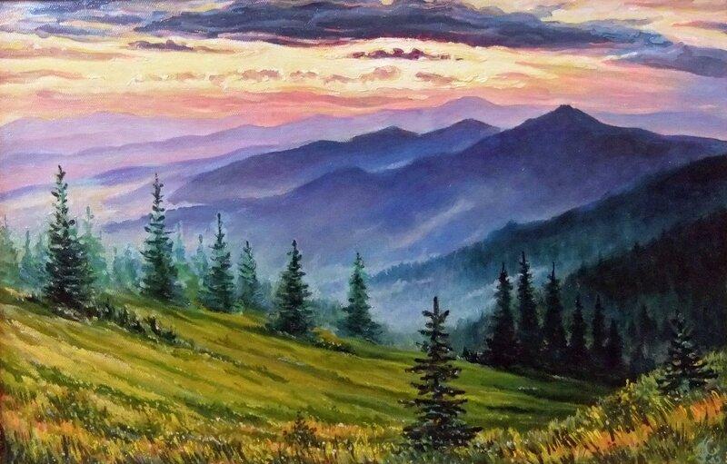 Пейзажисты 19 век ородской пейзаж