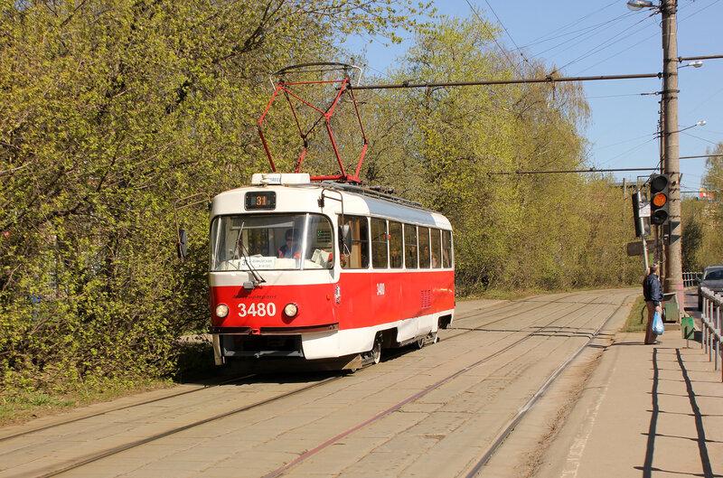 Трамвай 3480