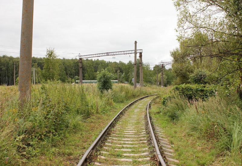 Подъездной путь от станции Непецино