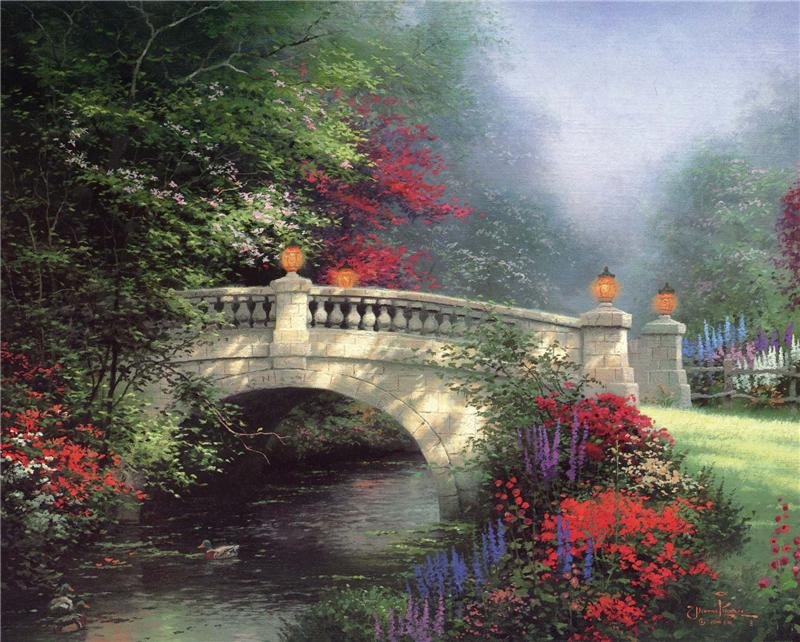 3 августа 2010.  Картины Томаса Кинкейда 2.
