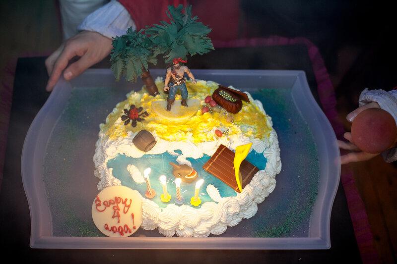 Торт Пиратская вечеринка
