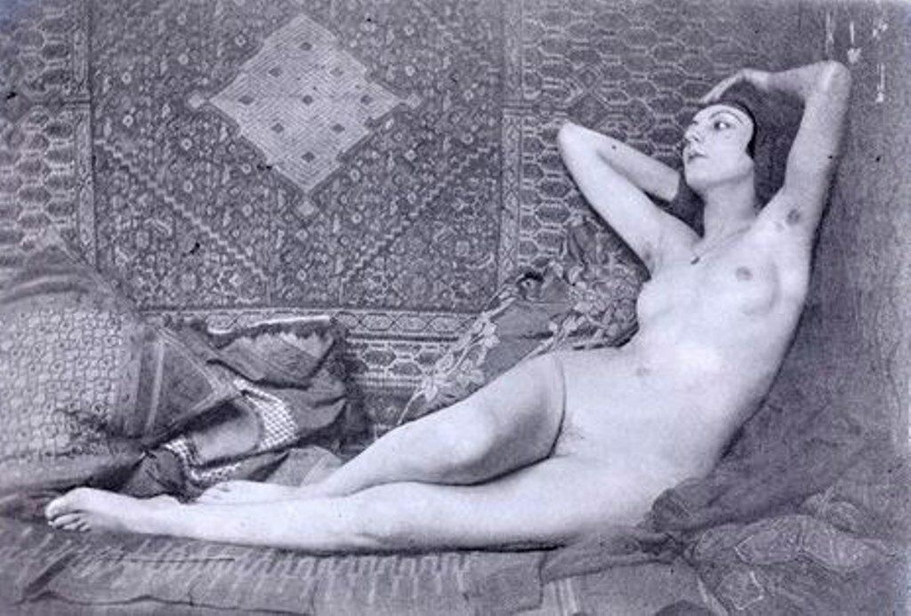1921. Ман Рэй. Кики с Монпарнаса