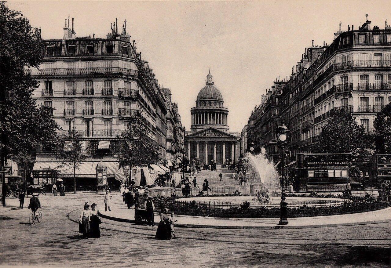 1910-е. Рю Суффло и Пантеон