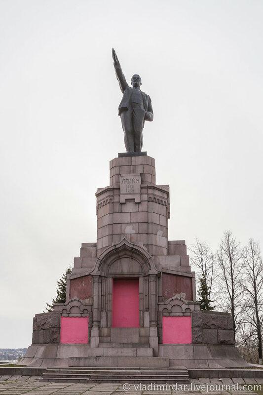 Памятник В.И. Ленину. Кострома.