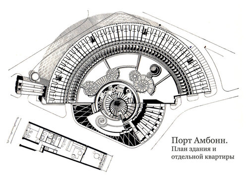 Порт Амбонн, план