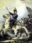 М.И.Платов на коне. Художник А.Г.Орловский
