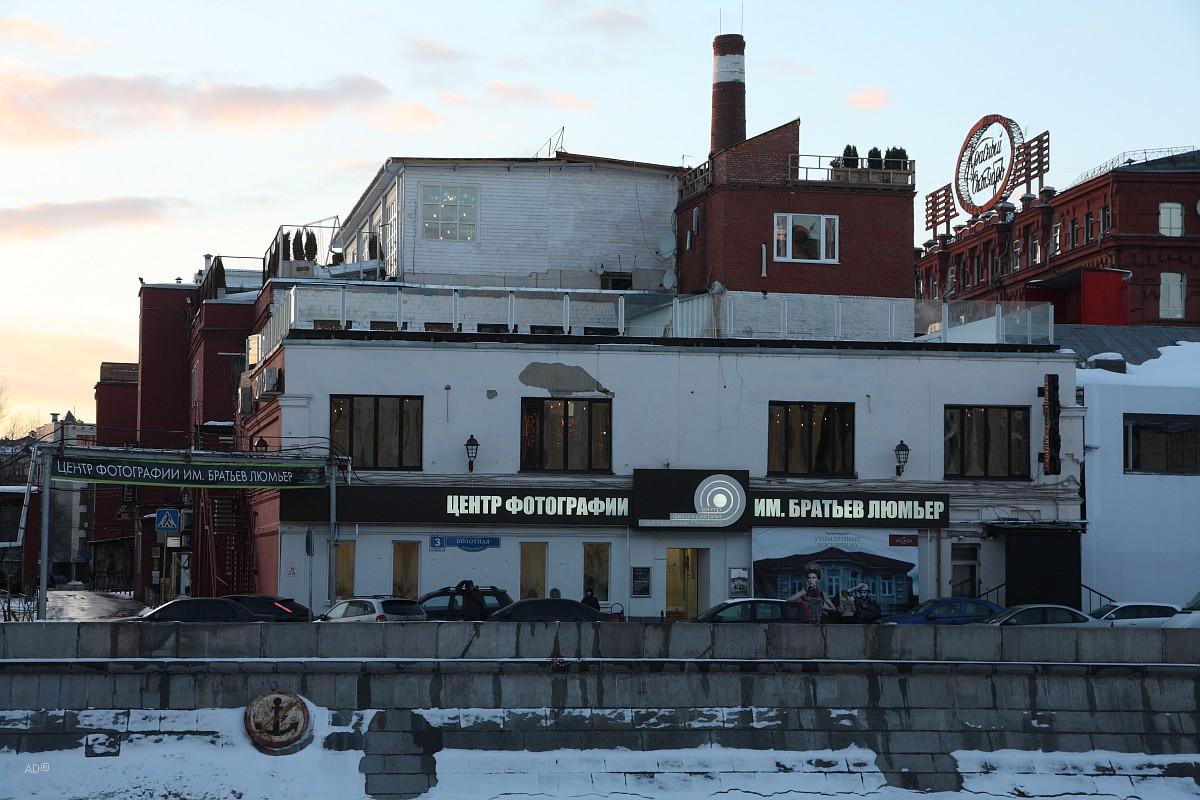 Бывш. территория кондитерской фабрики «Красный Октябрь»