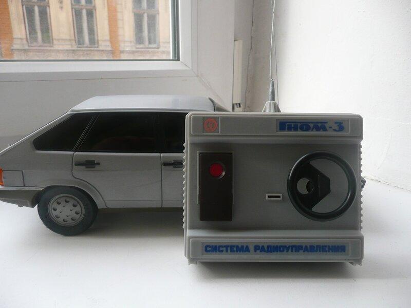 Игрушка ВАЗ 2109 на радиоуправлении из СССР