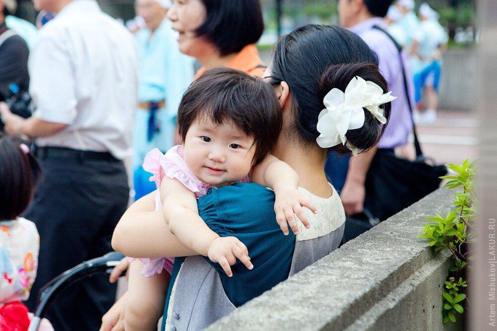 япония, дети.