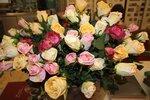 Искусственные цветы. Букет из РОЗ